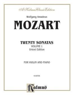 Twenty Sonatas (Urtext Edition) (AL-00-K03735)