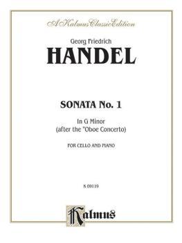 Sonata No. 1 in G Minor (AL-00-K09119)