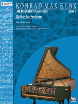 200 Short 2-Part Canons, Opus 14, Book 1 (Nos. 1-100) (AL-00-ELM02009)