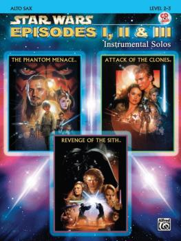 <I>Star Wars</I>®: Episodes I, II & III Instrumental Solos (AL-00-IFM0521CD)