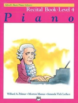 Alfred's Basic Piano Library: Recital Book 4 (AL-00-2116)