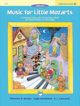 Music for Little Mozarts: Halloween Fun! Book 3: A Halloween Story wit (AL-00-21225)