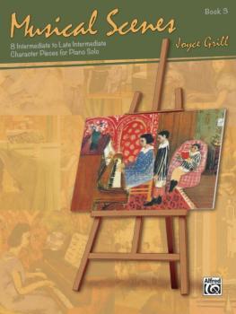 Musical Scenes, Book 3 (8 Intermediate to Late Intermediate Character  (AL-00-42652)