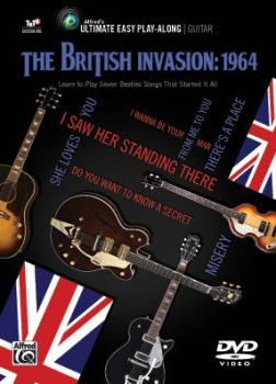 Ultimate Easy Guitar Play-Along: The British Invasion: 1964: Learn to  (AL-00-43965)