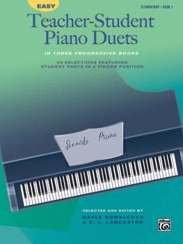 Easy Teacher-Student Piano Duets in Three Progressive Books, Book 1: 2 (AL-00-46128)
