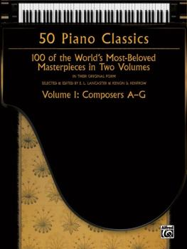 50 Piano Classics, Volume 1: Composers A-G: 100 of the World's Most-Be (AL-00-37316)