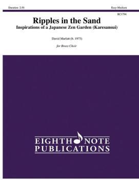 Ripples in the Sand: Inspirations of a Japanese Zen Garden Karesansui (AL-81-BC1794)
