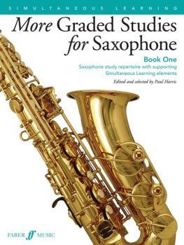 More Graded Studies for Saxophone, Book One: Saxophone Study Repertoir (AL-12-0571539513)