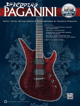 Shredding Paganini: Heavy Metal Guitar Meets 9 Masterpieces by Niccolo (AL-00-37468)