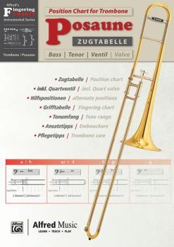 Zugtabelle für Posaune [Position Charts for Trombone] (AL-00-20231G)