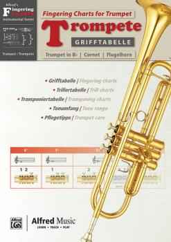 Grifftabelle für Trompete [Fingering Charts for Trumpet] (AL-00-20230G)