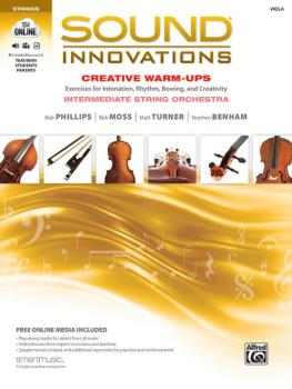 Sound Innovations for String Orchestra: Creative Warm-Ups: Exercises f (AL-00-44211)