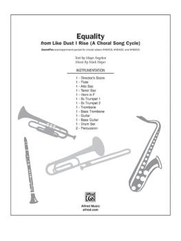 Equality (From <i>Like Dust I Rise A Choral Song Cycle</i>) (AL-00-DIGPX00053)