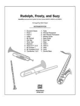 Rudolph, Frosty, and Suzy: Rudolph, the Red-Nosed Reindeer * Frosty, t (AL-00-DIGPX00064)