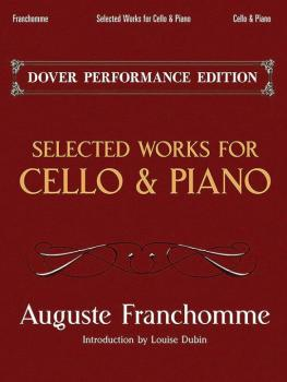 Selected Works for Cello & Piano (AL-06-493687)