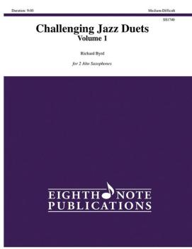 Challenging Jazz Duets, Volume 1 (AL-81-SS1740)