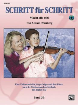 Step by Step 3B: An Introduction to Successful Practice for Violin [Sc (AL-00-28075GER)
