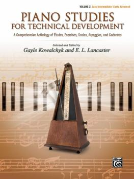 Piano Studies for Technical Development, Volume 2: A Comprehensive Ant (AL-00-46138)