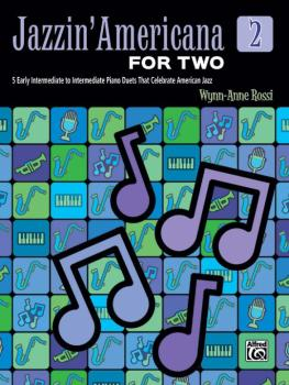 Jazzin' Americana for Two, Book 2: 5 Early Intermediate to Intermediat (AL-00-46822)