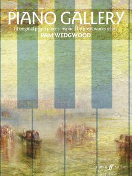 Piano Gallery: 14 Original Piano Pieces Inspired by Great Works of Art (AL-12-0571540481)