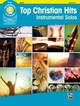Top Christian Hits Instrumental Solos for Strings (AL-00-46804)