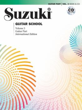 Suzuki Guitar School Guitar Part and CD, Volume 3 (AL-00-42082)