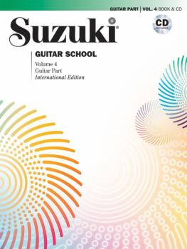 Suzuki Guitar School Guitar Part and CD, Volume 4 (AL-00-42161)