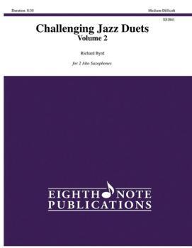Challenging Jazz Duets, Volume 2 (AL-81-SS1841)