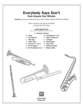 Everybody Says Don't (from <i>Anyone Can Whistle</i>) (AL-00-46999)