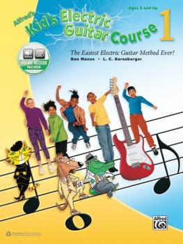 Alfred's Kid's Electric Guitar Course 1: The Easiest Electric Guitar M (AL-00-44451)