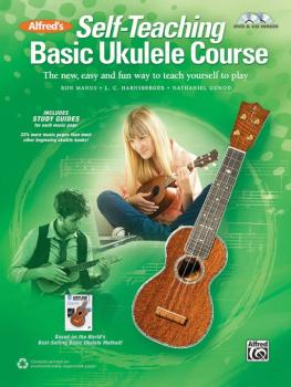 Alfred's Self-Teaching Basic Ukulele Course: The New, Easy, and Fun Wa (AL-00-44539)