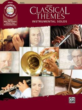 Easy Classical Themes Instrumental Solos for Strings (AL-00-47065)