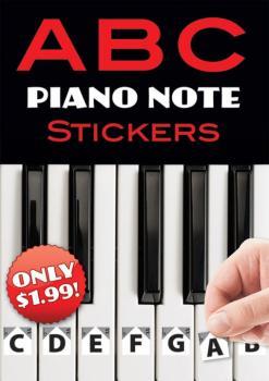 ABC Piano Note Stickers (AL-06-820319)