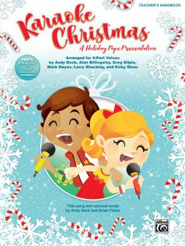 Karaoke Christmas: A Holiday Pops Presentation for 2-Part Voices (AL-00-46828)