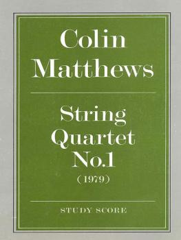 String Quartet No. 1 (AL-12-0571506933)
