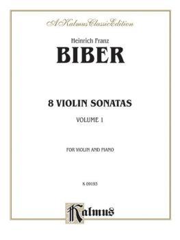 Eight Violin Sonatas (AL-00-K09193)