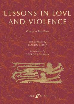 Lessons in Love and Violence (Opera in Two Parts) (AL-12-0571540554)