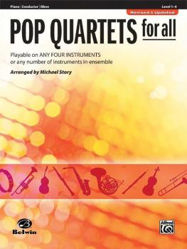 Pop Quartets for All (Revised and Updated): Playable on Any Four Instr (AL-00-30709)