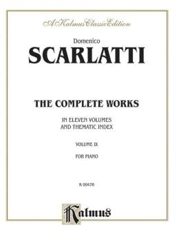 The Complete Works, Volume IX (In Eleven Volumes and Thematic Index) (AL-00-K09470)