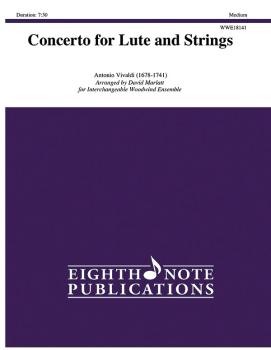 Concerto for Lute and Strings (AL-81-WWE18141)