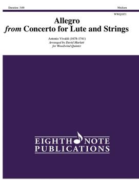 Allegro (from <i>Concerto for Lute and Strings</i>) (AL-81-WWQ1871)