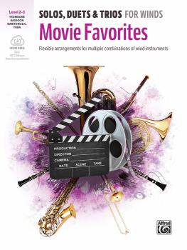 Solos, Duets & Trios for Winds: Movie Favorites: Flexible Arrangements (AL-00-47834)