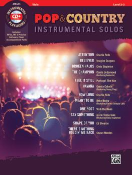Pop & Country Instrumental Solos for Strings (AL-00-47351)