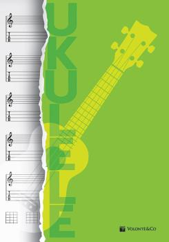 Ukulele Music Notebook (AL-99-MB726)