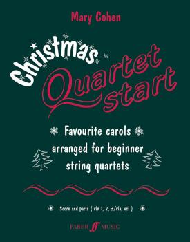 Christmas Quartetstart: Favorite Carols Arranged for Beginner String Q (AL-12-0571519296)