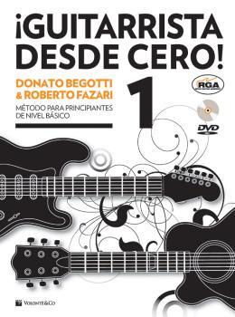 ¡Guitarrista desde Cero!: Mètodo para Principiantes de Nivel Básico (AL-99-MB602)