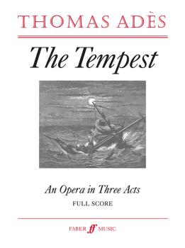 The Tempest: An Opera in Three Acts (AL-12-057153838X)
