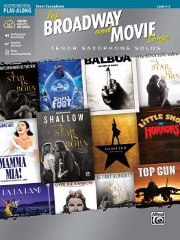 Top Broadway and Movie Songs: Tenor Saxophone Solos (AL-00-47971)