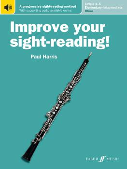 Improve Your Sight-Reading! Oboe, Levels 1-5 (Elementary-Intermediate) (AL-12-0571540899)