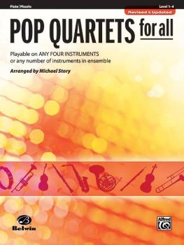Pop Quartets for All (Revised and Updated): Playable on Any Four Instr (AL-00-30710)